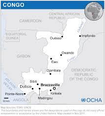 Congo Map Congo Reliefweb