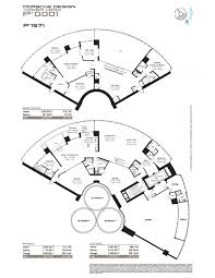 floor plan model ph a line01 atporsche design tower sunny isles
