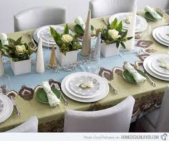 How To Set Silverware On Table 20 Christmas Table Setting Design Ideas Home Design Lover