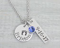 personalized necklace for personalized necklace etsy