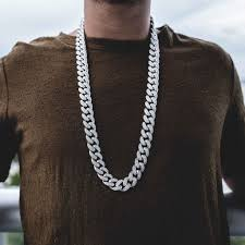 white chain necklace images Diamond cuban link necklace 19mm in white gold the gld shop jpg