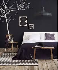 chambre noir gris relooking déco chambre en noir et blanc côté maison