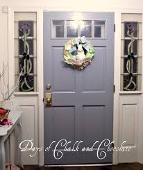 my gray interior door days of chalk and chocolate