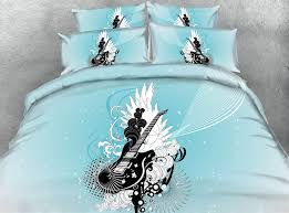 Guitar Duvet Cover Aliexpress Com Buy New Arrival 3d Guitar Printed 100 Cotton 4