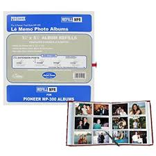 pioneer photo albums refills pioneer memo pocket album refill for mp 300 3 1 2 x