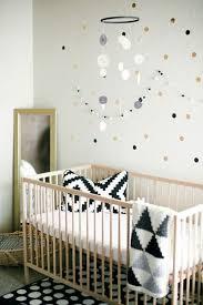 chambre bébé contemporaine idées de décoration chambre bébé fille en noir et blanc chambre