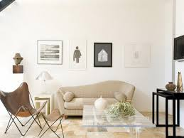 make a simply elegant look from neutral living room colors