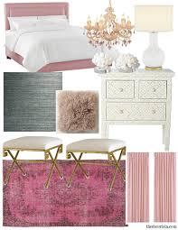Pink Gold Bedroom by Get The Look Romantic Modern Bedroom U2014 The Decorista