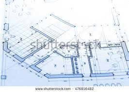 blueprints for house architecture blueprints house plans stock photo 487077766