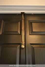 Closet Door Lock Finished Bi Fold Closet Doors Used As Doors