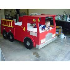 Fire Engine Bed Gorgeous Fire Truck Bedroom On Fire Truck Police Car Toddler Boy