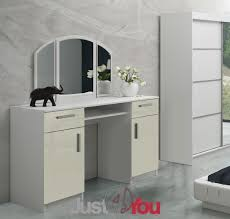 Modern Furniture Uk Online by Modern Dressing Table Riwiera 2 With Mirror Drawers And Cabinets