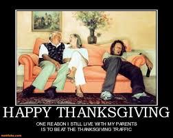 demotivational poster happy thanksgiving one reason i still live