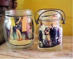 photo in mason jar centerpieces budget brides guide a wedding blog