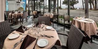 ocean view restaurants santa monica veranda restaurant at the