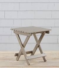 home goods folding table featured home goods at l l bean seaside decor pinterest