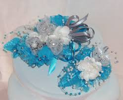 Corsage And Boutonniere For Homecoming Made To Order 2 Piece Set Blue Silver Wrist Corsage