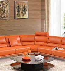 Orange Sleeper Sofa Laura Orange Sleeper Sofa Bed Fj 13 42500 Modern Modern