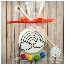 Easter Egg Cookie Decorating Kit by Pyo Paint Your Own Sugar Cookie Favors Birthdays Pinterest