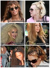 celebrity hair extension goofs celebrities in hair extensions