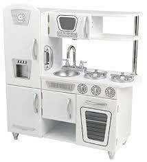 cuisine enfant amazon amazon com kidkraft vintage kitchen white toys