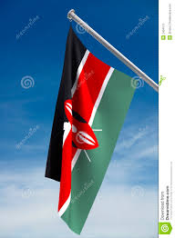 Flag Of Kenya Kenya Flag Stock Illustration Illustration Of Pole Colours 2404573