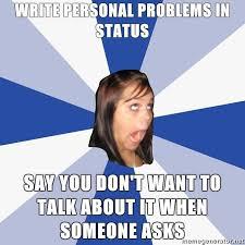 Facebook Girl Meme - annoying facebook girl know your meme