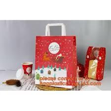 christmas paper bags christmas paper gift bag gift packaging rope handles christmas