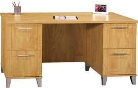60 Inch Computer Desk Bush Wc81428 03 Somerset 60 Inch Computer Desk 2 File Drawers