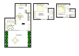 2 bedroom family apartment in paris