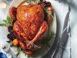 thanksgiving turkey recipies sweet and spicy roast turkey recipe southern living