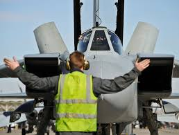 Position Of Flags File Marshalling Of Raf Tornado Jet During Ex Red Flag In The Usa