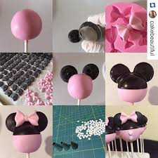 minnie mouse cake pop tutorial cakesdecor minnie mouse cake pops