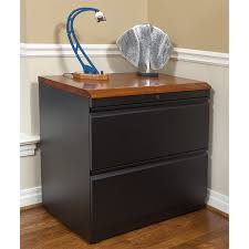 Lateral Filing Cabinets Wood Lateral File Cabinet With Premium Wood Top Caretta Workspace