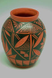 Indian Vases Native American Etched Pottery Vases Native American Pottery