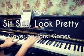 si e piano daya sit still look pretty jarel gomes piano
