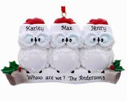 buy wise owl family of 3 personalized families of 3