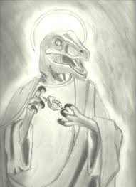 Jesus Drawing Meme - raptor jesus by aazerus on deviantart