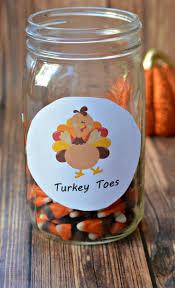 thanksgiving treat thanksgiving printable turkey toes free printable