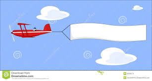 airplane clipart message banner pencil and in color airplane