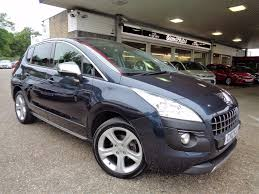 used peugeot suv for sale used peugeot 3008 allure 1 6 e hdi fap auto 32000 miles blue