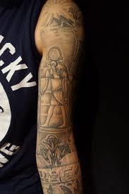 egyptian theme sleeve roddy mclean tattooer