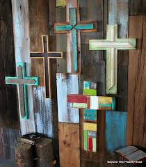Barn Wood Paintings Rustic Reclaimed Wood Crosses Http Bec4 Beyondthepicketfence