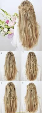 Sch E Frisuren Zum Selber Machen Glatte Haare by Charmant Frisuren Für Glatte Haare Zum Selber Machen Deltaclic