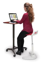 anthro desk sit stand legs ofm mesa mobile sit stand podium 66100 stand up desks