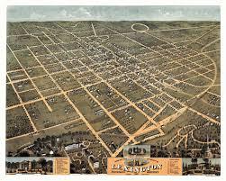 Fayette County Maps Old Map Of Lexington Kentucky 1871 Fayette County U2013 Vintagepostersblog