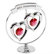 40th wedding anniversary gifts for parents gifts ruby wedding anniversary 100 images 40th wedding