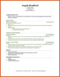 College Job Resume by Build Your Resume Best Resume Template For High Student