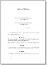 loan agreement template microsoft word templates private loan