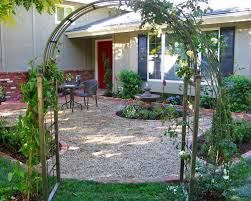 backyard landscaping ideas with no grass picture of small garden